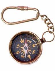Antique Key Chain Compass