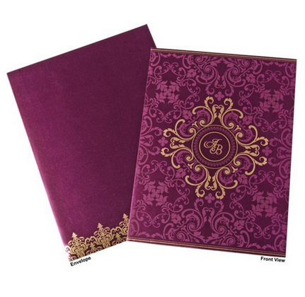 Muslim Wedding Card Printing