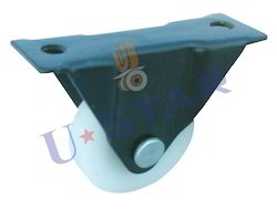 Derlin Bearing Single Wheel Fix Caster