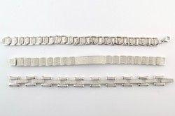 DSA Silver Men's Bracelet