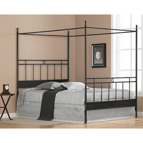 Black 4 Poster Bed Rs 19000 Piece Oliver Metal Furniture Id