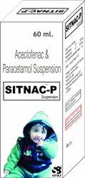 Acelofenac & Paracetamol Suspension