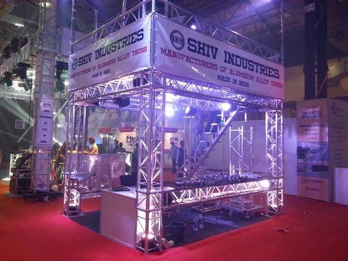Exhibition Stall On Rent : Exhibition truss aluminium exhibition truss manufacturer from mumbai