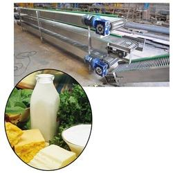 Conveyor Systems for Food & beverage Industries - Bucket Elevator