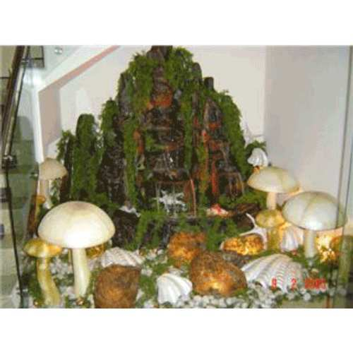 Indoor Waterfalls - Glass Waterfall Manufacturer from New Delhi