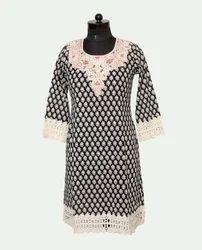 Stylish Printed Cotton Kurti