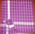 Cotton Check Checked Kitchen Towels