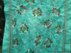 Pure Silk Kantha Stole