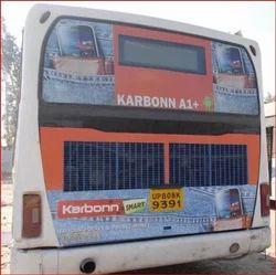Agra City Bus Branding - Bus Advertising