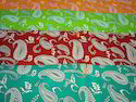 Paisley Printed Fabrics