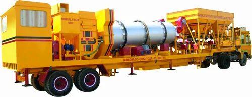 Leo Automatic Mobile Asphalt Mixing Plant, Model/Type: Roadmac-60 Mf,  Capacity: 40-60 Tph,   ID: 6848582755