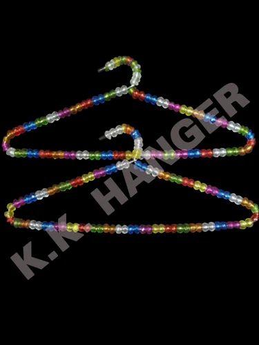 K Hangers Plastics Colored Bead Hanger