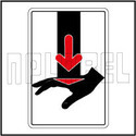 770606 Protect Hand - Warning Sticker