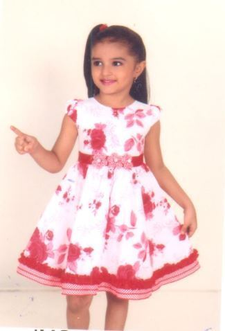 1d0b3d92aef3 Girls Frocks - Girls Floral Printed Frock Manufacturer from Mumbai