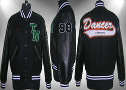 Black Varsity Jacket - Plain