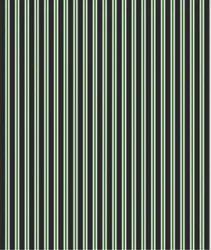 Black, Green and White Stripe Formal Polyester Shirt Fabric, Handwash, 100-150 Gsm