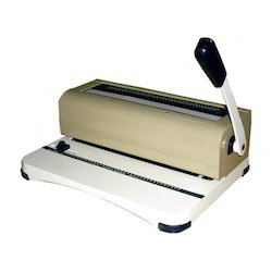 Manual Spiral Binding Machine