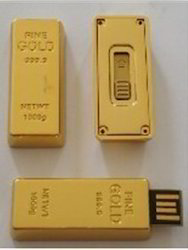 Gold Bar Pendrive