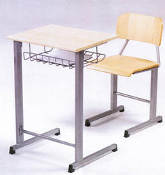 Single Seater School Desk Classroom Bench Table Chair