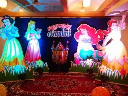 Theme Based Birthday Party Decoration Service In Perambur