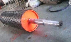 Rubber Coated Drum Pulley