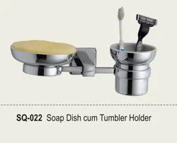 Soap Dish Cum Tumbler Holder