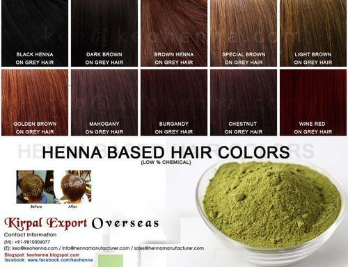 Henna Based Hair Colors - View Specifications & Details of Henna ...