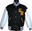 Black White Varsity Jacket - Customized