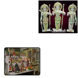 Marble Ram Darbar Statues for Home