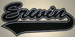 Ervin Chenille Patch for Jackets