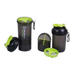 Protein Shaker Bottle with Mixer