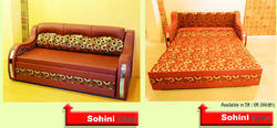 Sohini Wooden Sofa Cum Bed