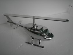 Decorative Helicopter Model Aluminium