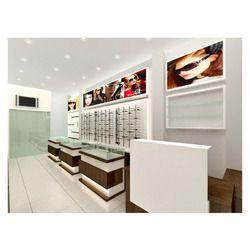 Interior Designing for Eye Wear Showroom