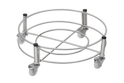 Stainless Steel Cylinder Trolley Stand
