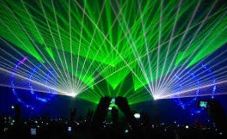 Rave Lights Laser Musical Halflong