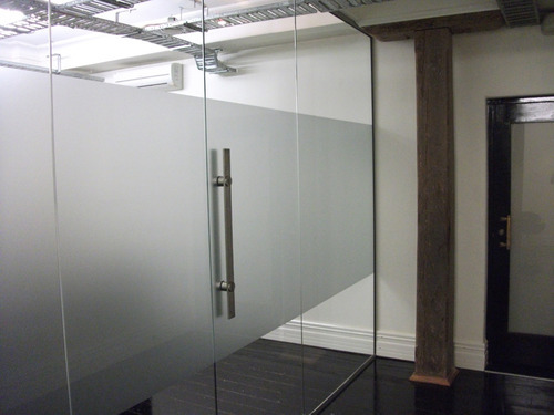 Transparent Frameless Glass Door Rs 299 Square Feet