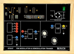 FSK Modulation and Demodulation Trainer - ST8107