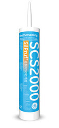 GE SCS2000 SilPruf - Weather Silicon Sealant
