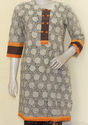 Hand Block Ladies Kurta
