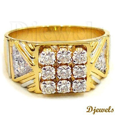 Designer Gold Gents Ring at Rs piece