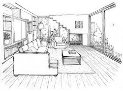 Living Room Drawing bedroom drawing & living room drawing coaching classes from erode