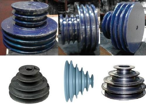 Mechanical Power Transmission Pulley - V Belt Step Pulley Manufacturer from  Mumbai