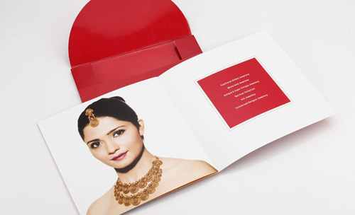 Jewellery Showroom Invitation Card Printing Service In Aji Gidc Main