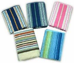 Dobby Striped Bath Towels