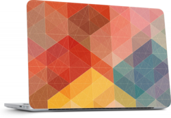 Colored Pattern skin for Mac Book pro