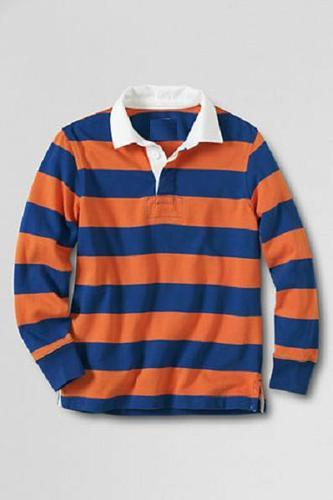 0202304c4 Oem Mens Yarn Dyed Striped Rugby Polo Shirts