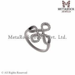 Pave Diamond Ring Jewelry