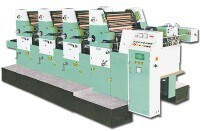 Four Colour Offset Printing Machine 18x25