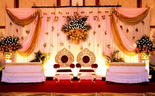 Wedding floral decoration floral decoration m square guwahati wedding floral decoration junglespirit Choice Image